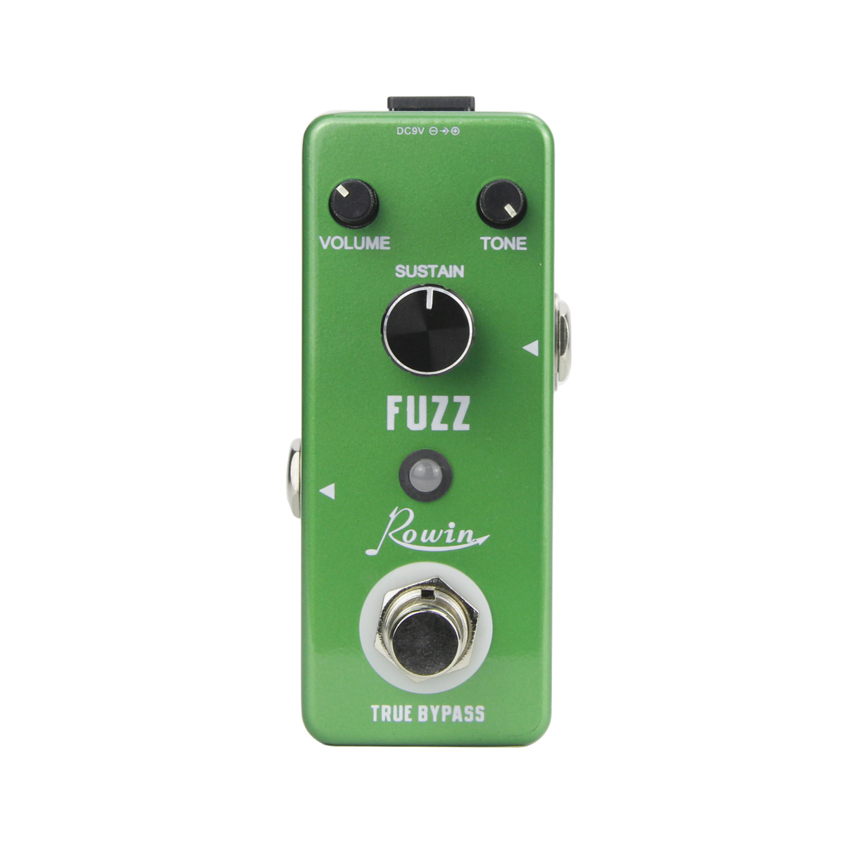 NEW Mini FUZZ Pedal Guitar Effect Aluminum Alloy Shell True Bypass Guitar Parts image