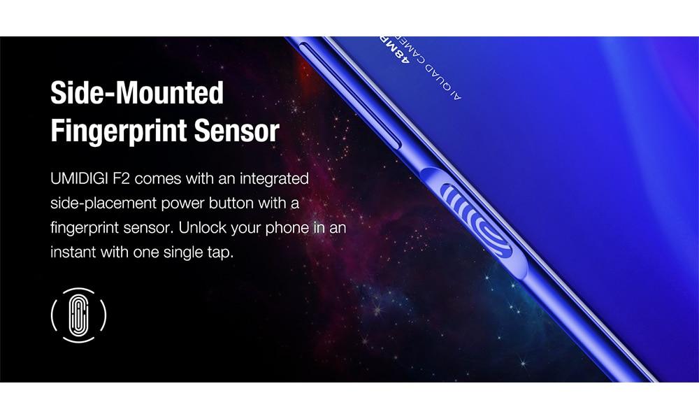 "H2b3a5a51c4604558972788d9c3560614B Pre-sale UMIDIGI F2 Android 10 Global Version 6.53""FHD+6GB 128GB 48MP AI Quad Camera 32MP Selfie Helio P70 Cellphone 5150mAh NFC"