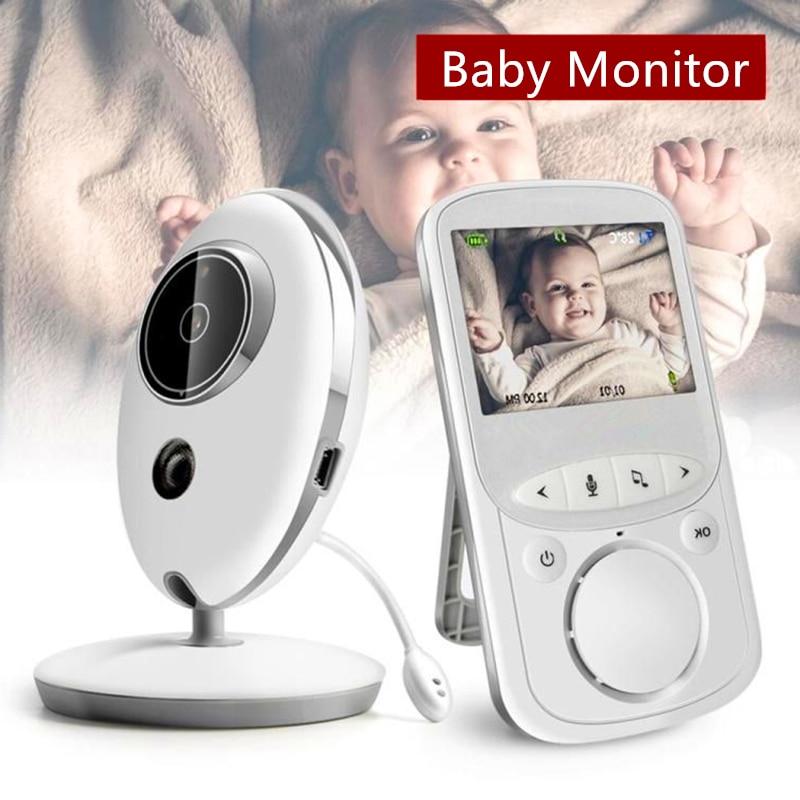 Wireless Audio Video Baby Monitor With Radio Nanny Intercom IR 24h Portable Baby Wifi Camera Baby Babysitter מוניטור לתינוק