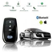 For Lexus PKE Keyless Entry Remote Start Car Engine Alarm System with Push Button Anti theft APP Control Locking