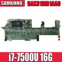 For HP Spectre x360 13-AC Laptop Motherboard With SR341 i7-7500u 16GB RAM DAX31MB1AA0 MainBoard 100% Tested Fast Ship