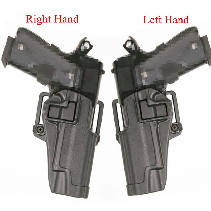 Gun Holster Tactical Colt 1911 Airsoft Pistol Belt Holster 1911 Pistol Accessories Gun Case Left / Right Hand Handgun Carry