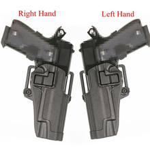 Coldre de arma tático colt 1911 airsoft pistola coldre cinto 1911 acessórios pistola caso arma esquerda/mão direita carry
