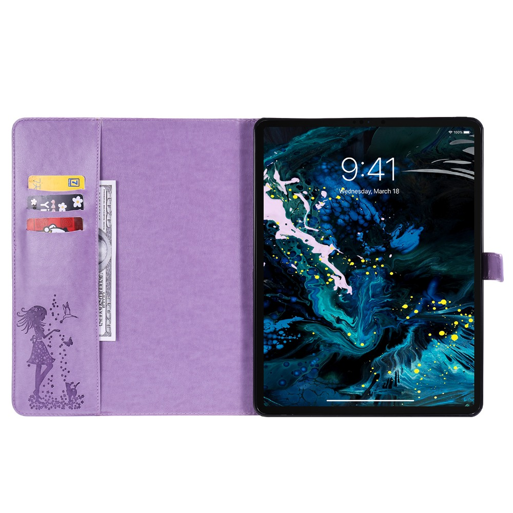 Case Funda Cover Leather iPad 4th 2020 Cover For Protective Shell Gen 12.9