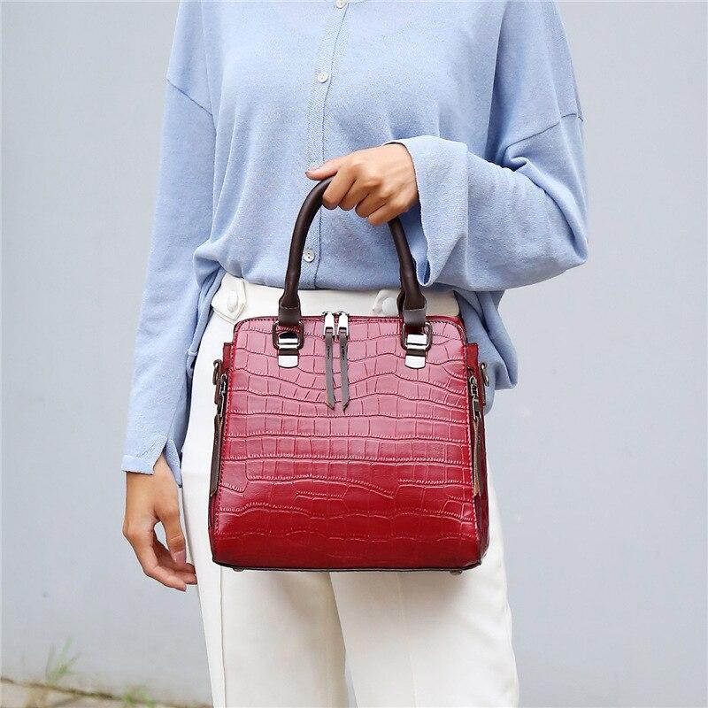 YBTY 4pcs/set vintage casual women composite bag luxury handbags women bags designer alligator female shoulder crossbody bags