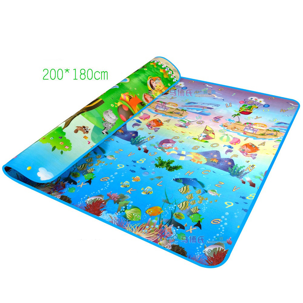 Baby Foam Play Mat Double Surface Crawling Puzzle Mat Baby Carpet Rug Early Education Baby Activity