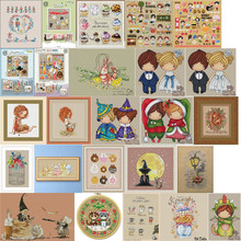 Cross-Stitch-Kits Embroidery Needlework-Sets 18CT 11CT 14CT 7-Counted DIY Top-Selling