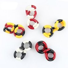 1Pcs Variable Twisted Rope Neutral Plastic Circle Twine Toy Children Adult Decompression Vent Twist!