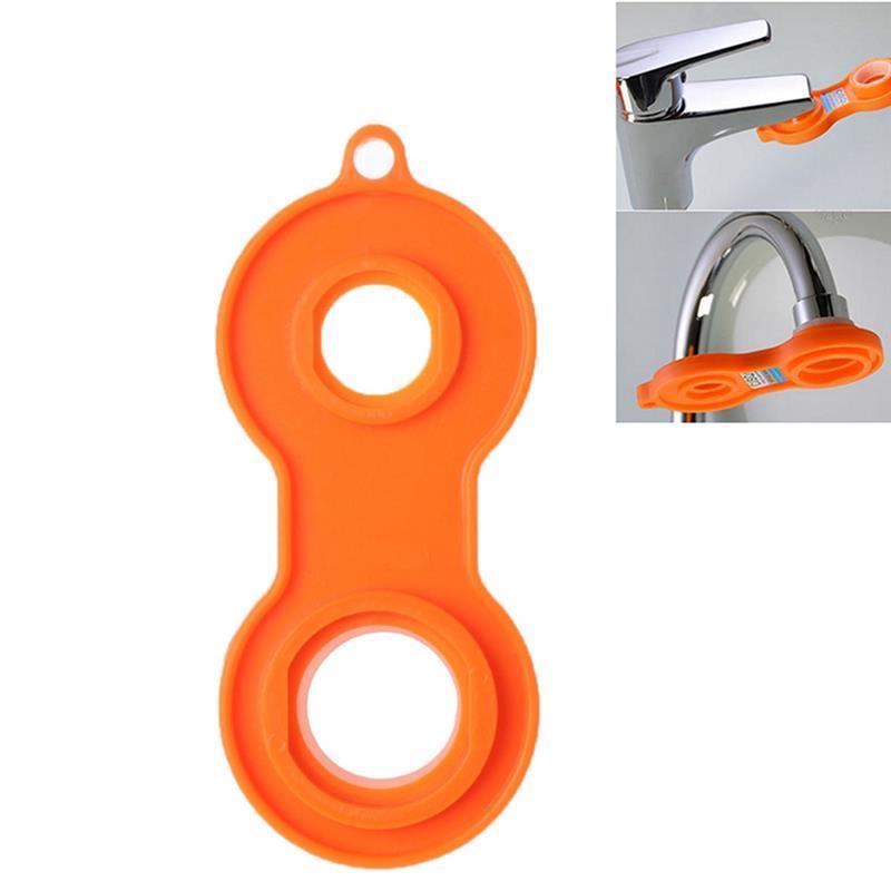 1 шт. универсальный гаечный ключ кран барботер гаечный ключ разборный чистящий инструмент четыре стороны доступный барботер желтый гаечный ключ|Аэраторы|   | АлиЭкспресс