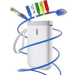 D11Cable drukarki etykiety termiczne drukarki Mini ręczny naklejki kabel drukarka etykiet połączenia Bluetooth dla telefonów komórkowych Android i iOS