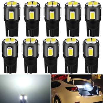 10PCS LED T10 W5W LED canbus car interior light 194 501For Volvo XC60 XC90 S60 V70 S80 S40 V40 V50 XC70 V60 C30 850 C70 XC 60 image