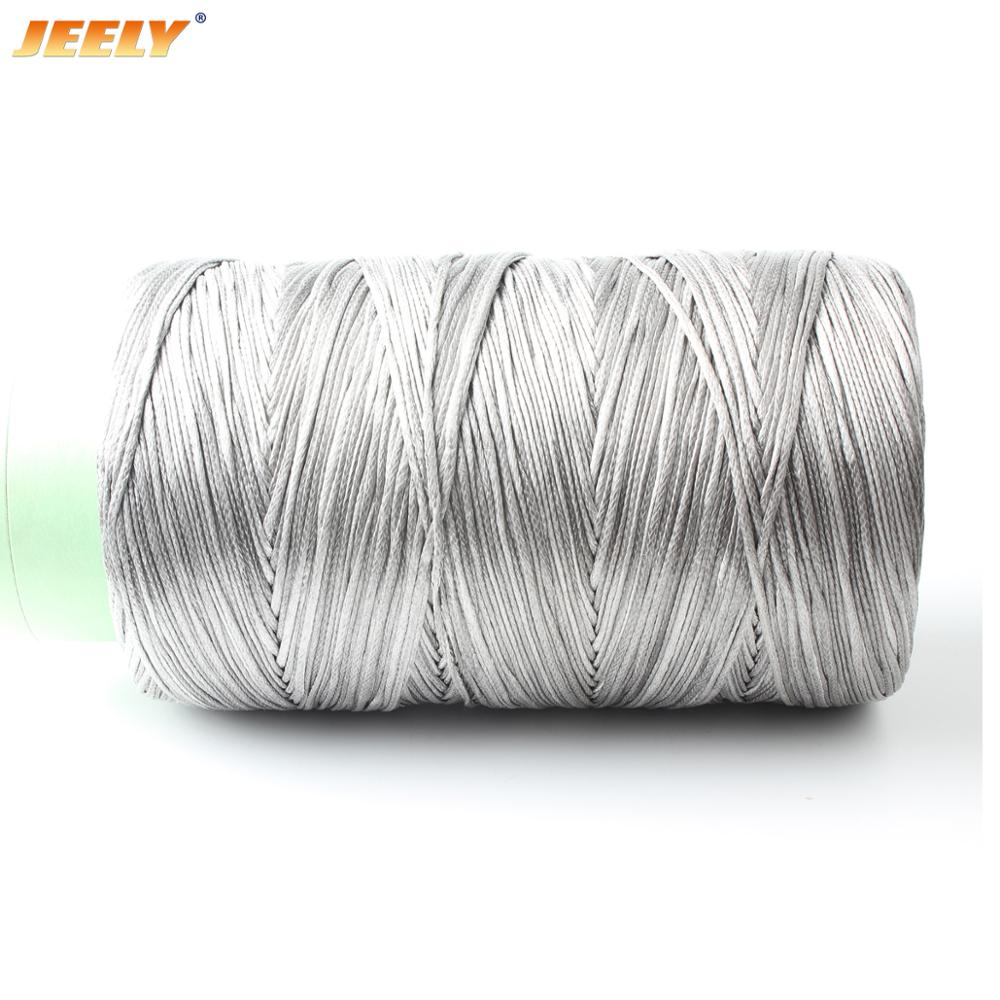 JEELY 50m 1000lb UHMWPE Hollow Braided Spearfishing Rope 2mm 12 Weave