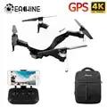 Eachine EX4 5G Wifi 1.2Km Fpv Gps Met 4K Hd Camera 3 As Stabiele Gimbal 25 minuten Vliegtijd Rc Drone Quadcopter Rtf Vs X12