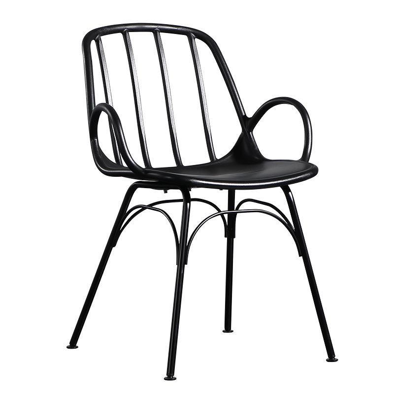 modern Minimalism plastic chair restaurant dining room chairs farm table and chairs outdoor family bedroom armrest lounge chair