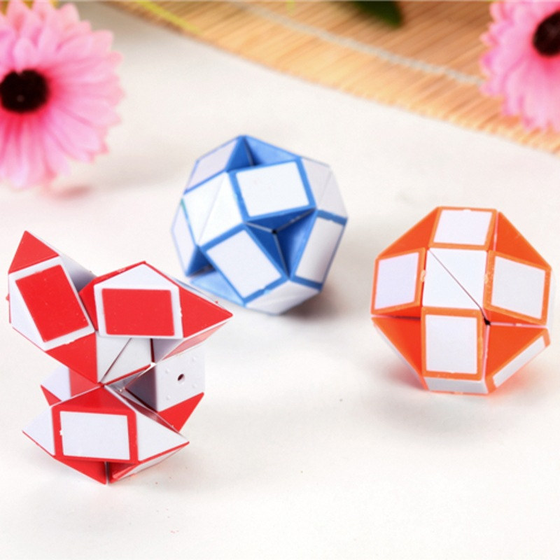 Fun Toys Cube-Stress Puzzles Relief Rainbow 1pcs Strange-Shape img4