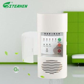 Sterhen mejor venta purificador de aire de pared Flter desodorizante de ozono purificador de aire de baño