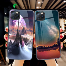 ciciber Luxury tempered glass phone case for iPhone 11 Pro Max 7 8 6 6S Plus Cover Case for iPhone X XR XS Max Back Coque Fundas wood texture tempered glass phone case for iphone 11 pro max x xs max xr 7 8 6 6s plus soft protective luxury back cover fundas