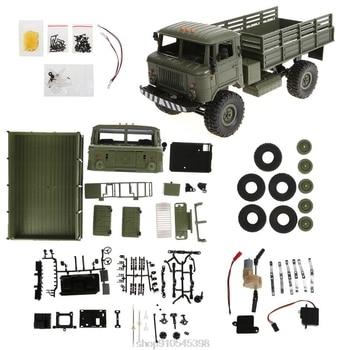WPL B - 24 1:16 2.4G Mini Off-road RC Car Military DIY Assembly Models N18 20 Dropshipping
