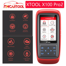 OBD2 Xtool X100 Pro2 strumento diagnostico Auto Auto per opel per ford programmatore chiave contachilometri regolare KO SBB PRO IPROG NT650 pvd BULL