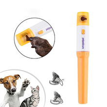 Elettrico Pet Dog Cat Nail Clippers Professionale Gatto Artiglio Forbici Nail Grinder Chiodo Trimmer Cani Attrezzi Tolettatura Artiglio Grinder Forbici cheap CN (Origine) Other Nailclippers db702 Use two AA batteries Dog Grooming Claw Grinder Scissors For Cat Dog Electric Manicure
