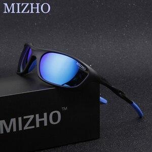 Image 5 - MIZHO Brand Anti Reflective Driving Sunglasses Men Polarized Mirror Fashion Small Frame Male Eyewear Women Sun Glasses Travel