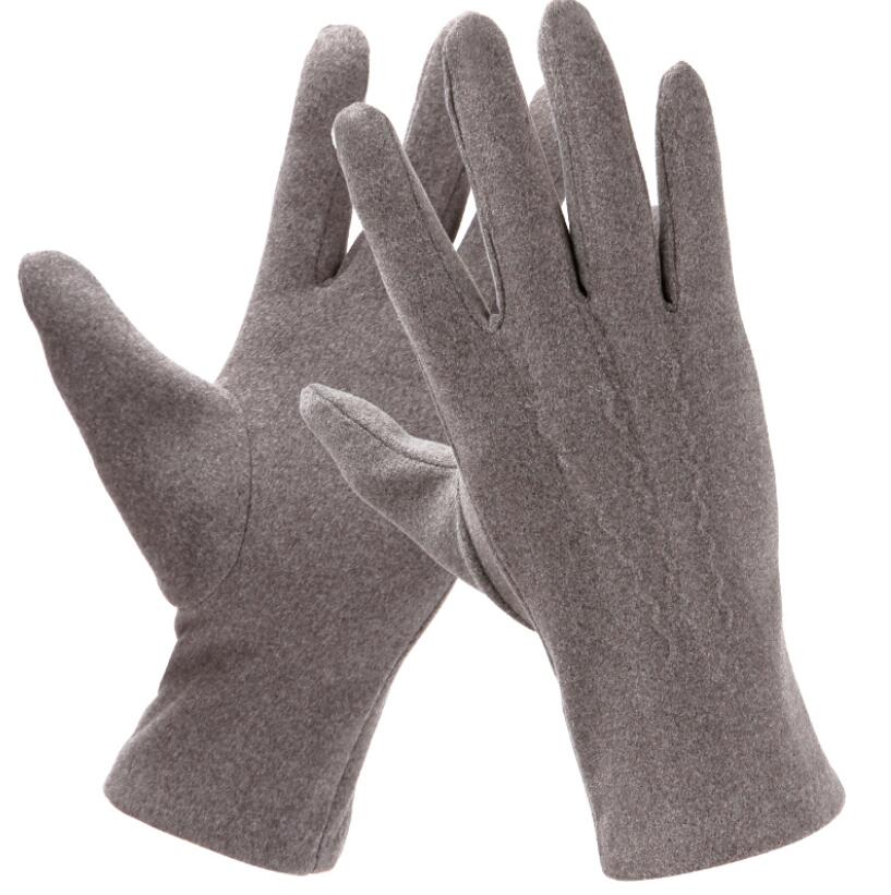 Spring Autumn Men's Touchscreen Gloves Male Elastic Cotton Driving Gloves R2579