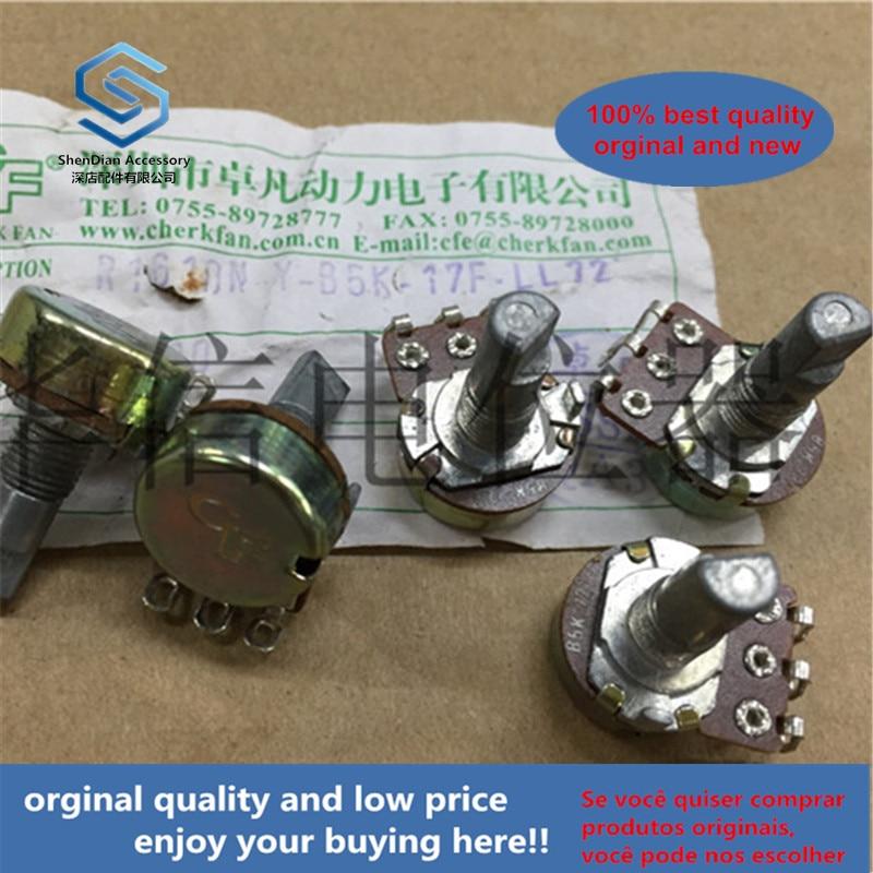 1pcs 100% New And Orginal CF R1610N-Y-B5K-17F-LL72 16 Remote Control Car Single Potentiometer B5k Handle 17mmf 72 Degrees