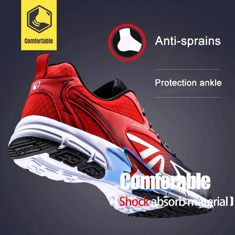 MODYF Для Мужчин's Сталь носком Рабочая безопасная обувь Легкий дышащий материал; Рабочая обувь противоскользящий дизайн защитная обувь