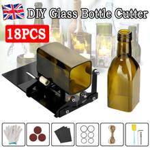 Coupe-verre, coupe-bouteille en verre, outil de coupe, carré et rond, sculpture en verre de bière et de vin, pour Machine à découper le verre à faire soi-même