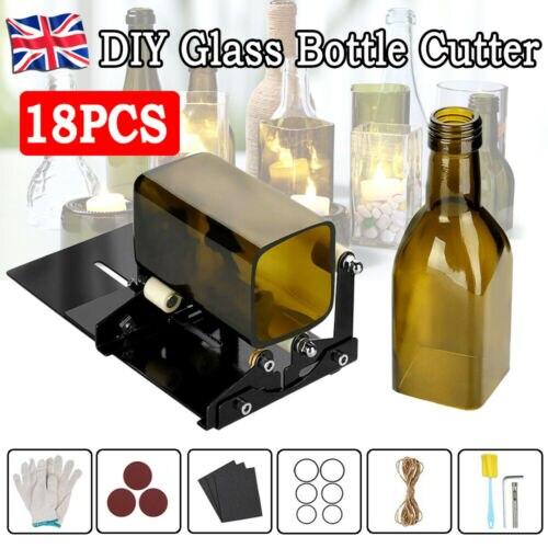 Nóż do szkła szklany przyrząd do rozcinania butelek narzędzie do cięcia kwadratowy i okrągły kufel do piwa wina rzeźby frez do DIY maszyna do cięcia szkła
