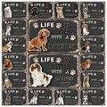 Животные [Mike86] искусственная животная такса, чихуахуа, Maltese, металлический знак, оловянный плакат, домашний декор, бар, настенное искусство, ж...