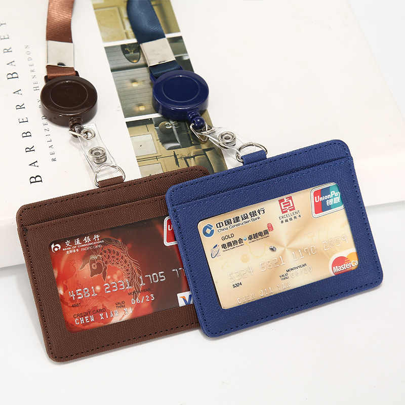 Slim บัตรเครดิต RFID การปิดกั้นผู้ชายและผู้หญิงหนัง Pass พอร์ต Bus Access multi- การ์ดบิตแพ็คกระเป๋า