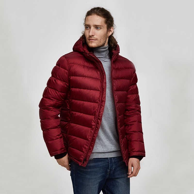 Tiger Force, мужские зимние куртки, дутые куртки, Мужская парка, зимние пальто с капюшоном, теплая спортивная зимняя куртка с капюшоном, верхняя одежда