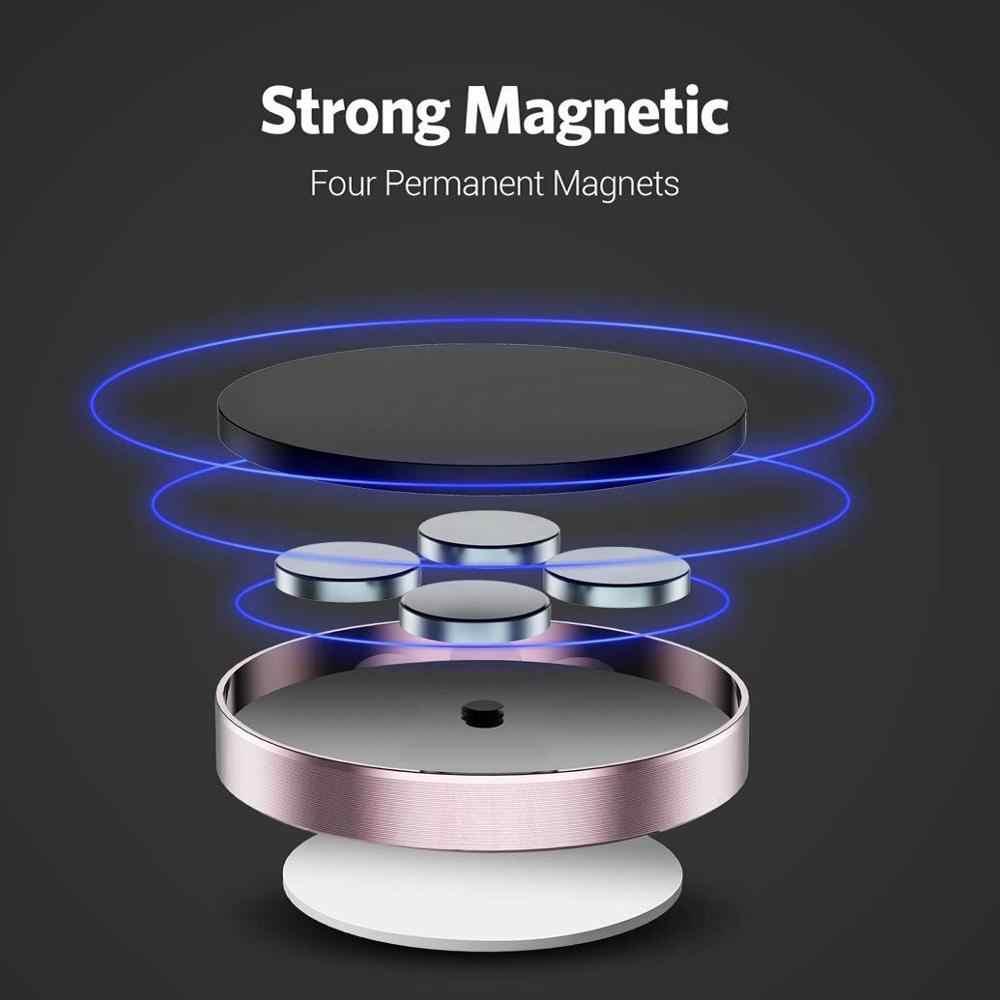 Universal magnético titular do telefone do carro para o iphone 7 6s 5S 8 xiaomi huawei telefone titular painel suporte de parede ímã adesivo no carro