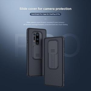 Image 2 - OnePlus 8 Pro Camera Protection Case For Oneplus8 Pro Case NILLKIN Slide Protect Cover Lens Protection Case on One Plus 8 Pro