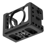 Suitable For Sony RX0 II Camera Cage Microphone VLOG Holder Durable Black Camera Cage