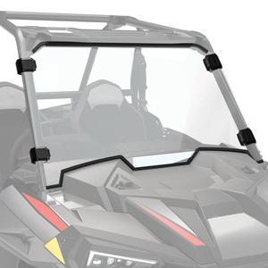 Image 1 - Cam Polaris RZR XP 1000 / XP 4 1000 2019   2020 UTV tam ekran cam ön cam ağır hizmet tipi şeffaf çizilmez
