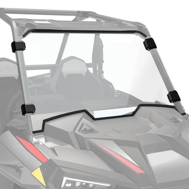 Cam Polaris RZR XP 1000 / XP 4 1000 2019   2020 UTV tam ekran cam ön cam ağır hizmet tipi şeffaf çizilmez