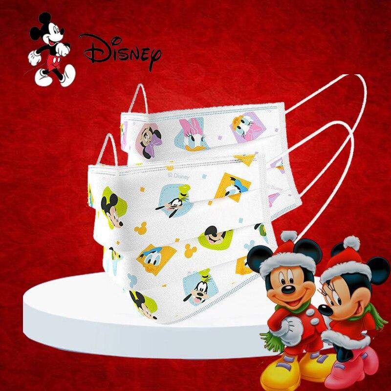 100pcs/50pcs/1pcs Disney cosplay accessories children anime Non-washable disposable face props for kids fashion
