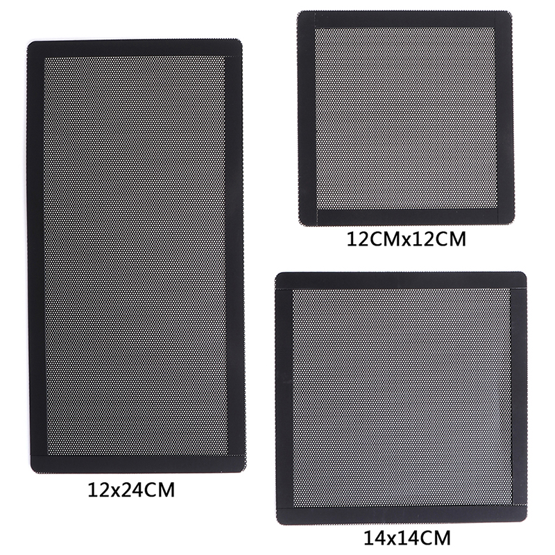 PC Case Cooling Fan Magnetic Dust Filter Mesh Net Cover Computer Guard For Computer/PC Case Cooling Fan 12x12CM,14x14CM,12x24CM