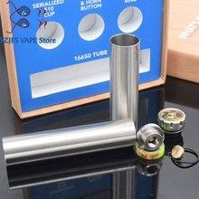 900 Tube Mech Mod 18mm diameter Fit 16650 16550 battery for BF MTL RDA mechanical mod vs sob  Tower Mods kayfun kit Kennedy