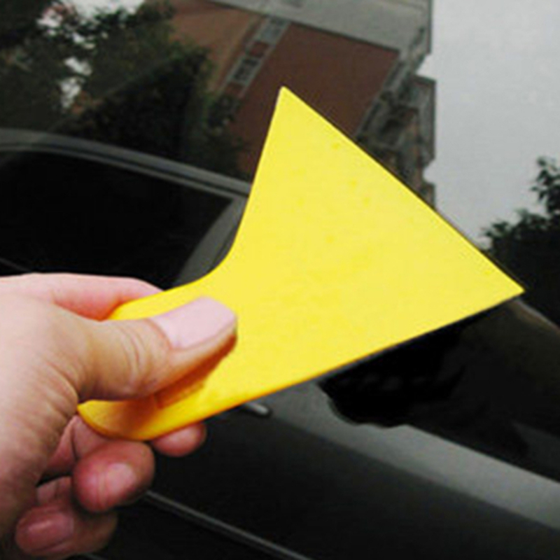 1pc Car Interior Sticker Mounting Scraper Small Scraper Vehicle Film Sticking Tool Auto Sticker Membrane Glue Removing Scraper