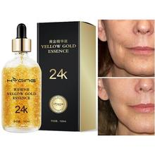 24K Gold Tense Moisture Pure Hyaluronic Acid Serum Anti-wrinkle Gold Nicotinamide Liquid Skin Care High Quality