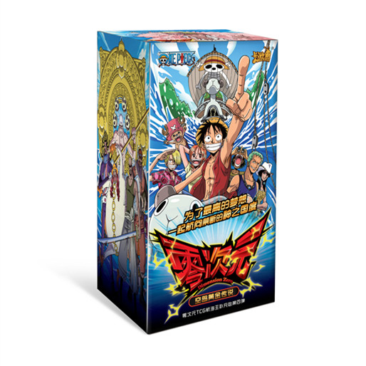 Original Dimension Zero One Piece Second To Sixth TCG Game Cards With Box Table Game Toys For Family Children Christmas Gift