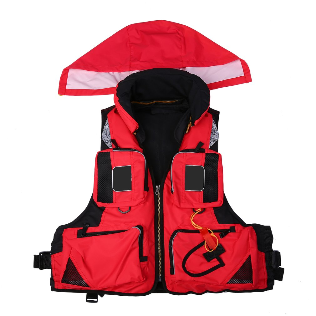 New Swimming Boating Ski Drifting Life Vest Water Sports Man Kids Jacket Polyester Adult Life Vest Jacket