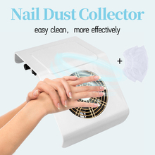 40W Vacuum Cleaner for ManicureWith Big Power Fan Strong Suction For Manicure Tools Nail Art Equipment