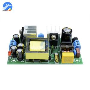 Image 4 - 12V 2A 24W AC DC כוח מבודד באק ממיר 220V כדי 12V צעד למטה מתג כוח מודול 20 60 מעלות זרם יתר הגנה