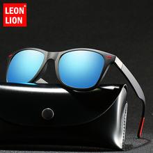 Мужские Винтажные поляризационные солнцезащитные очки leonlion