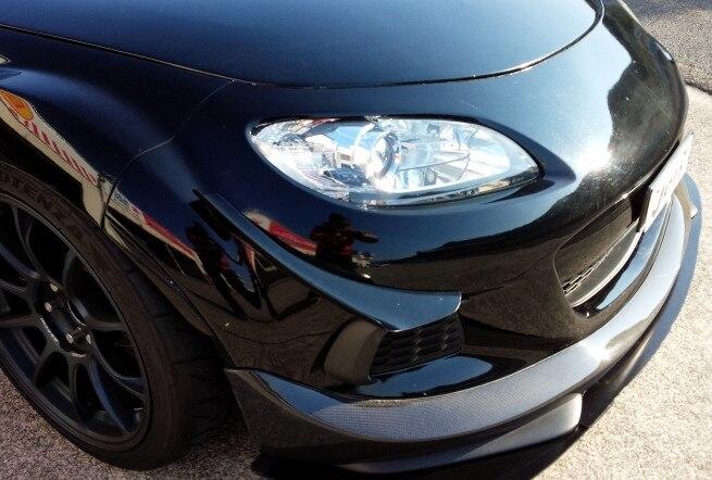 Fits for 2009-2012 Mazda Miata NC JDM Style Front Bumper Lip Splitter
