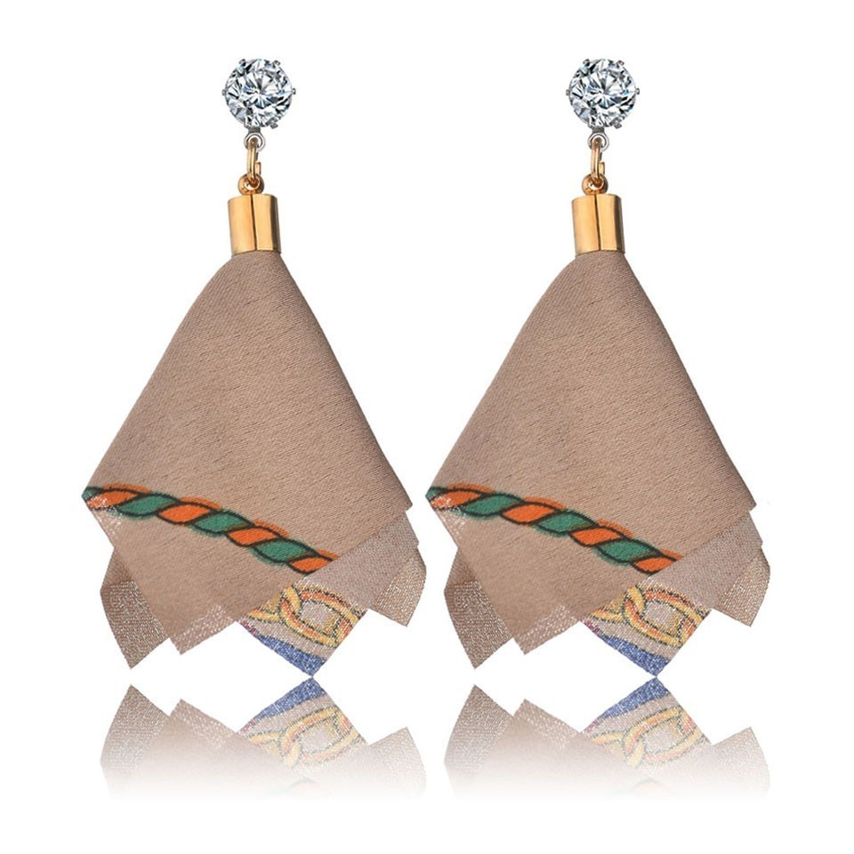 H2b3fad2c3dc24a138c2ecb112e1d3bafx - Bohemian Heart Tassel Long Drop Earrings BOHO Pink Blue Silk Fabric Design Dangle Earrings For Women Jewelry Gift Christmas